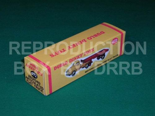 Dinky # 072 Dublo Dinky Bedford Articulated Lorry - Reproduction Box